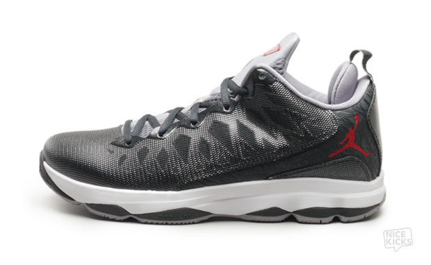 Jordan CP3.VI Black Gym Red Cement Grey Available Now