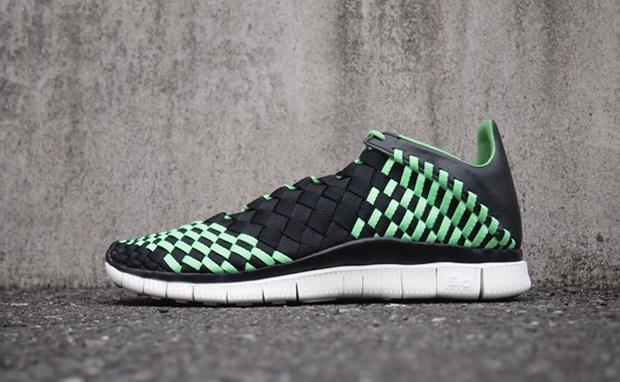 Nike Free Inneva Woven Black/Green