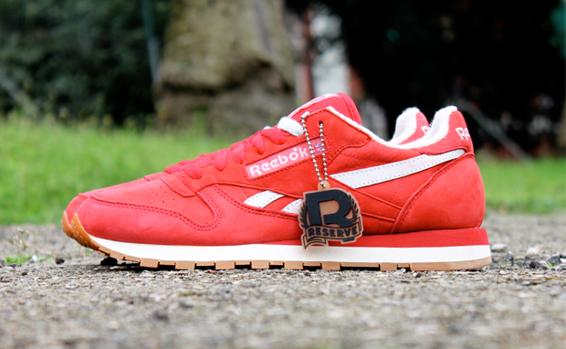 """Reebok Classic Leather Vintage """"Suede Pack"""" - Red"""