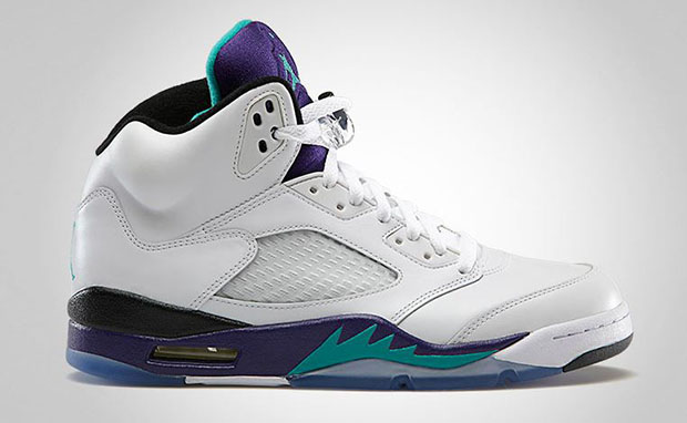 Air Jordan 5 Grape Official Images