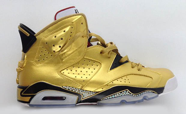 Air Jordan 6 91 Champ Custom