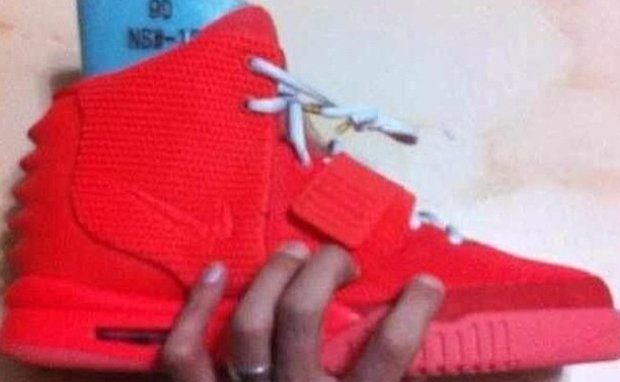 All Red Yeezy 2
