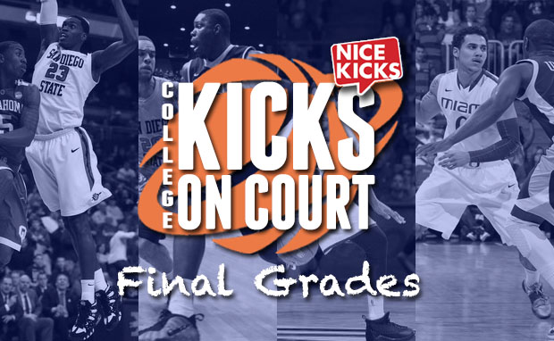 College Kicks On Court- How the Top 10 First Semester Teams Fared