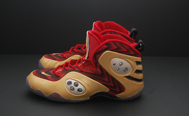 "Nike Zoom Rookie ""Iron Man 3"" Custom"