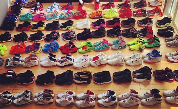 Joe Haden Shares a Part of His Sneaker Collection