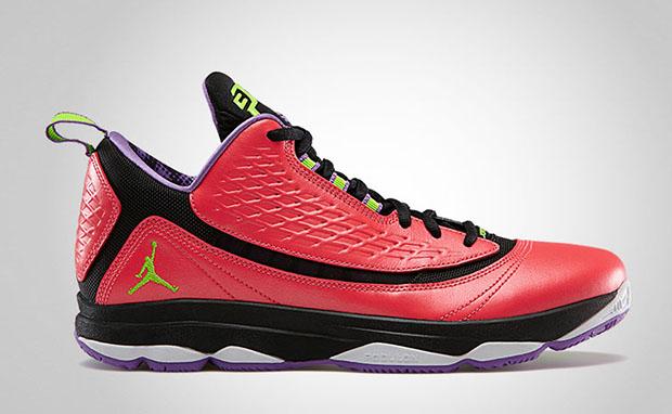 Jordan CP3.VI AE Bright Crimson Electric Green