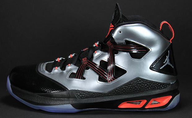 Jordan Melo M9 Black Silver Crimson Unreleased Sample