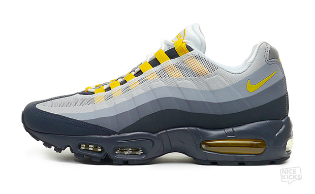 Nike Air Max 95 No-Sew Anthracite/Varsity Maize Available Now
