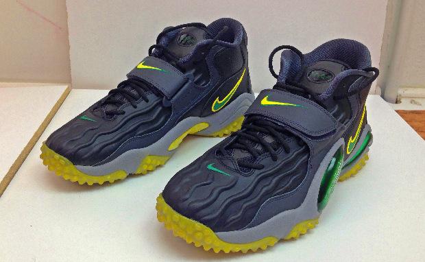 """Nike Air Zoom Turf Jet '97 """"Oregon Alternate"""" Custom"""