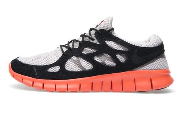Nike Free Run+ 2 EXT Desert Sand Electric Orange