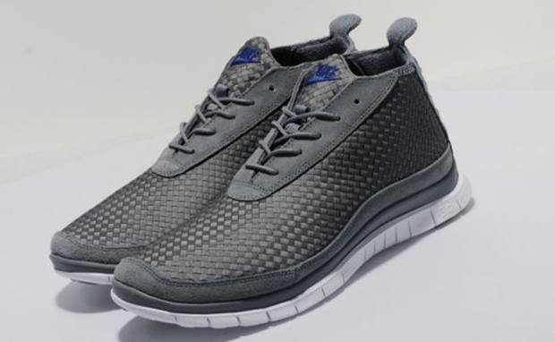 Nike Free Woven Chukka Grey