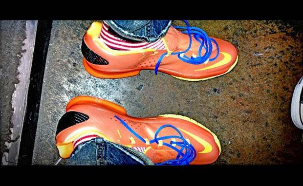 """Nike KD V Elite Orange/Photo Blue-Yellow """"Thunder"""""""