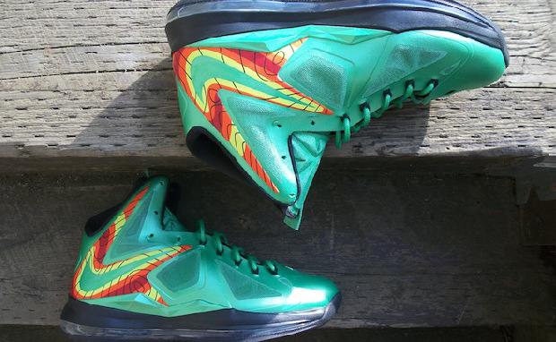 "Nike LeBron X ""Weatherman"" Custom"