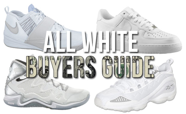 Nice Kicks Spring Buyer's Guide: All-White Sneakers