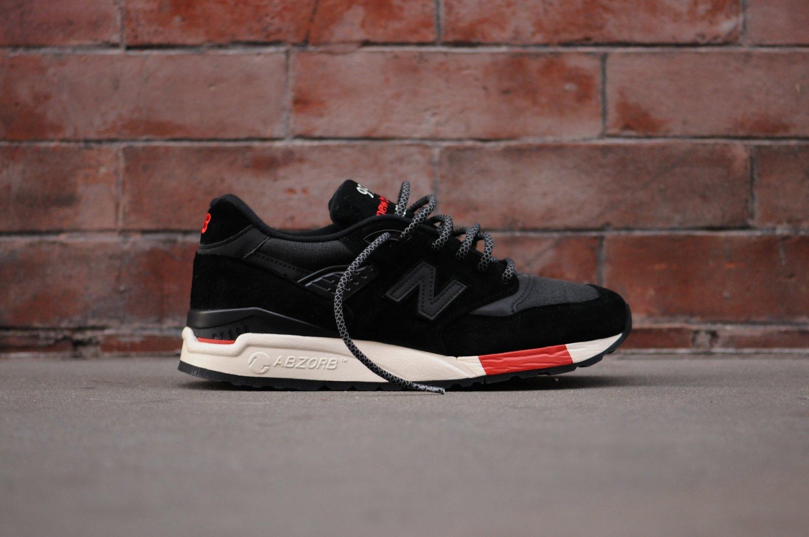 Kithstrike: New Balance 998 Black/Red