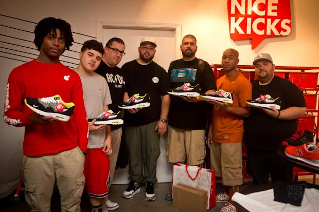 tee shirt yves saint laurent - Nice Kicks by Dank Customs Nike Air Max 1 \u0026quot;Vol. 1\u0026quot; Release Event ...