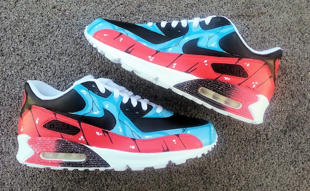 how to customize nike air max 90