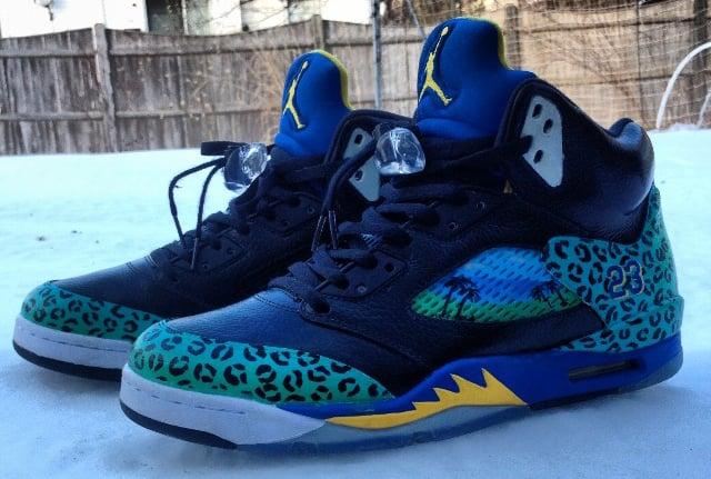 Versace Sneakers Jordans Air Jordan 5 &q...