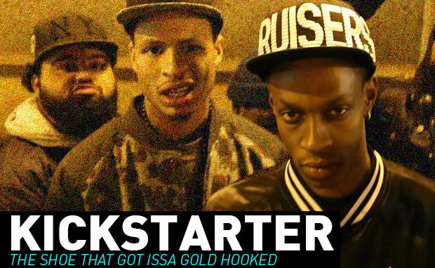 Kickstarter The Shoe That Got Issa Gold Hooked