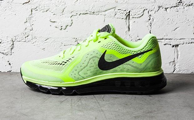 Humo Insatisfactorio Hablar  Nike Air Max 2014 Black/Barely Volt | Nice Kicks