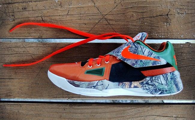 Nike KD IV RealTree Camo Pt II Custom