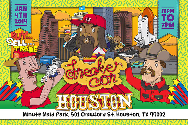 Sneaker Con Houston 2014