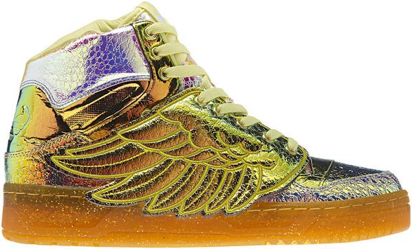 Jeremy Scott Adidas Wings Gold