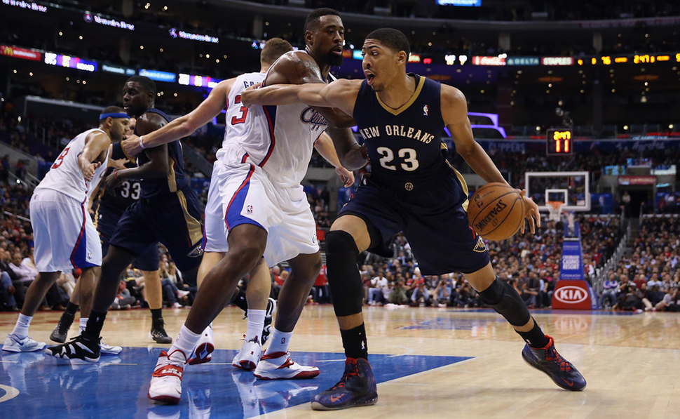 new product f3d5e 32eae ... A Look Back at Anthony Davis  Nike Hyperposite PEs   Nice Kicks ...