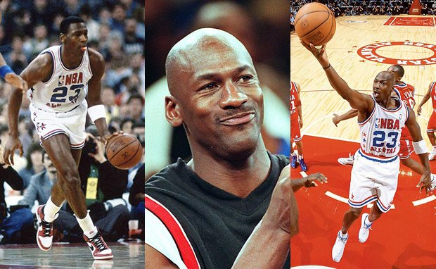 A Complete History of Michael Jordan's All-Star Sneakers