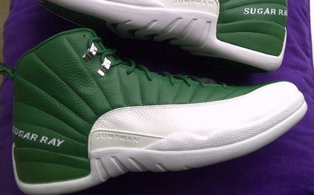 cheap for discount bbe25 c162b Air Jordan 13 Ray Allen Away PE Black Green- Available Now   SBD