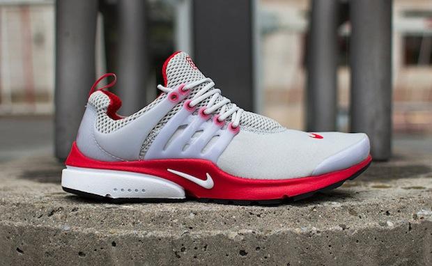 Nike Air Presto Grey/Red | Nice Kicks