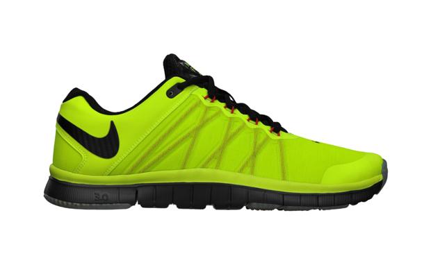 sortie 100% original Nike Free Trainer 3.0 Noir Vert vente réel Coût rhRgaE