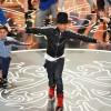 Pharrel Performs at the Oscars in Custom adidas Instinct His