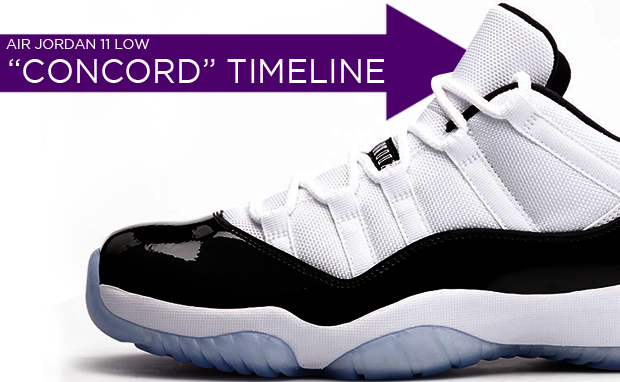 Air Jordan 11 Photos Timeline