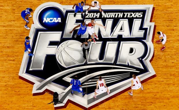 College Kicks On Court Final Four