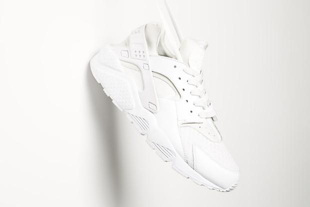 Nike Air Huarache All White