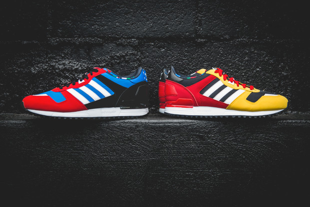 adidas zx 700 navy red