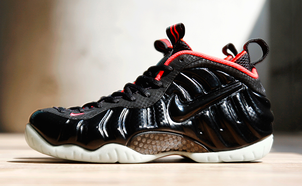 Nike Air Foamposite Pro Solar Red