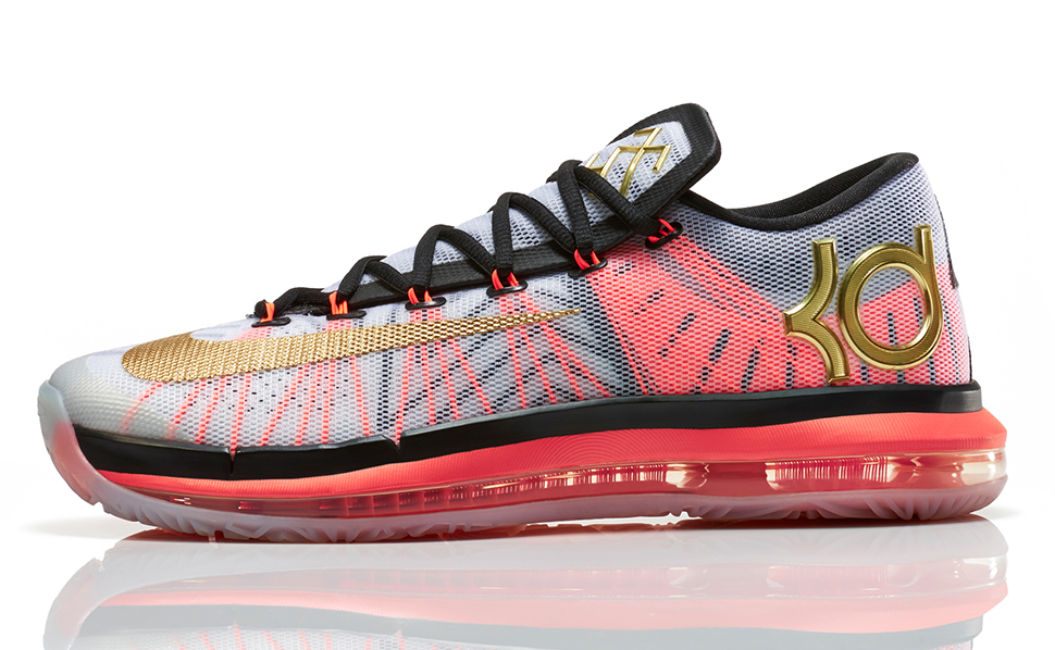 Nike KD VI Elite Gold