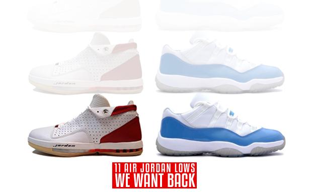 11 Air Jordan Lows We Want Back