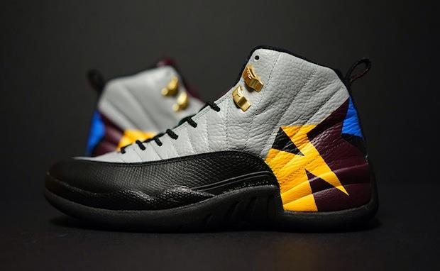 air jordan 12 quotbordeauxquot custom nice kicks