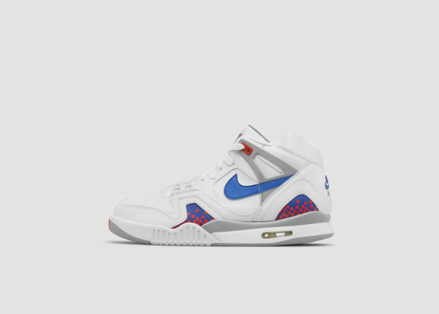Nike Air Tech Challenge II White Blue Red