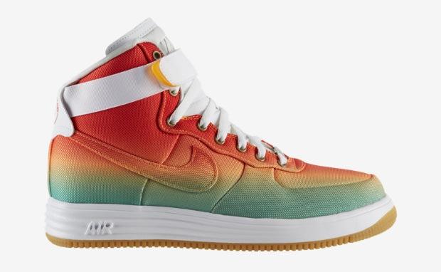 Nike Lunar Force 1 High Turbo Green/Light Crimson | Nice Kicks