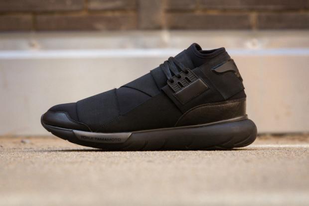 adidas y 3 qasa high black nice kicks. Black Bedroom Furniture Sets. Home Design Ideas