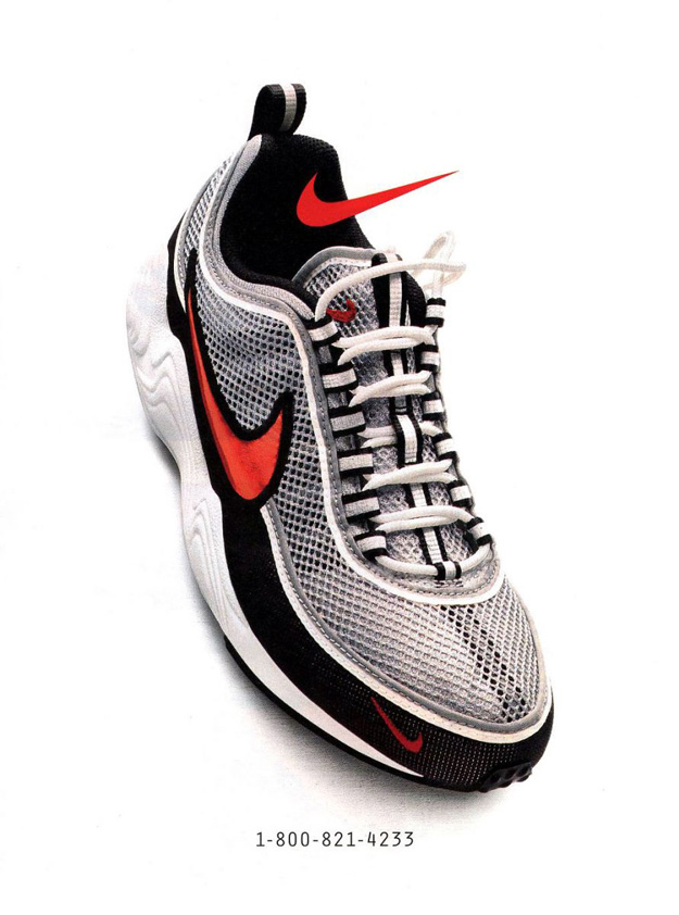 Nike Air Zoom Spiridon magazine ad