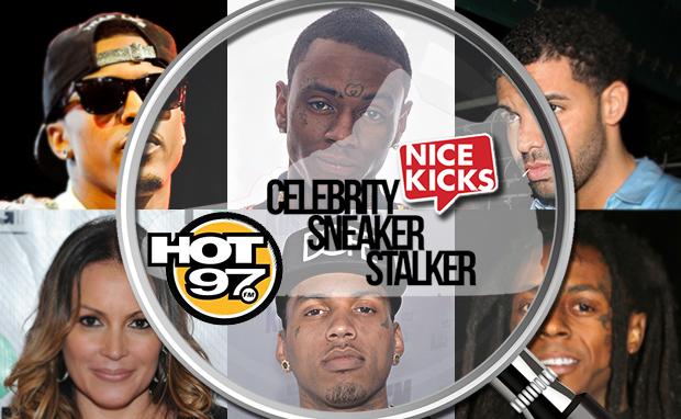 Celebrity Sneaker Stalker Hot 97 Summer Jam