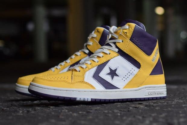 converse weapon custom colorway shoe