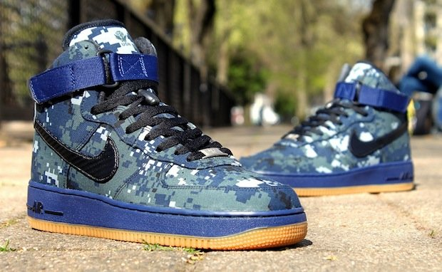 Nike Air Force 1 High Usn 0 Custom Nice Kicks