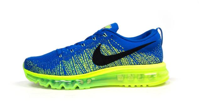 Nike Flyknit Air Max Blue Volt