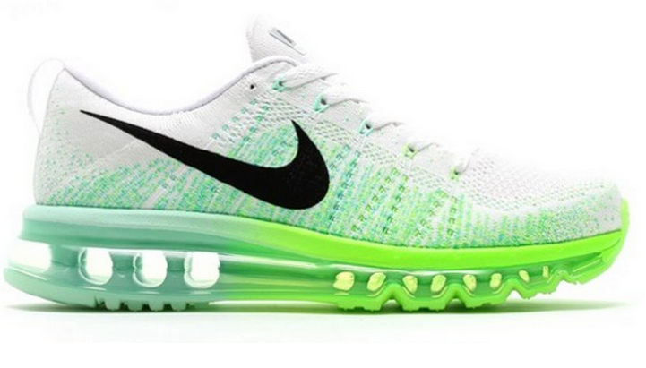 nike air max flyknit electric green